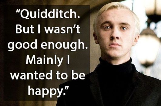 Malfoy Quote
